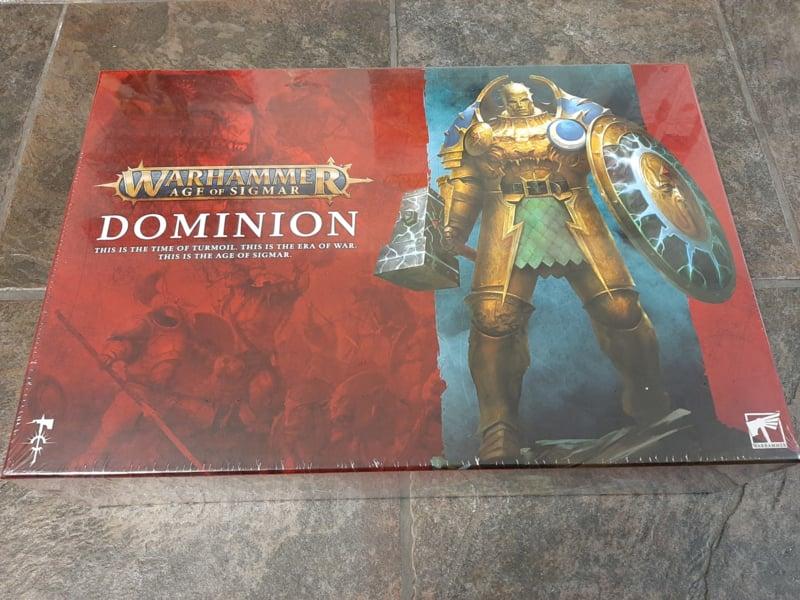 Warhammer Age of Sigmar Dominion (warhammer nieuw)