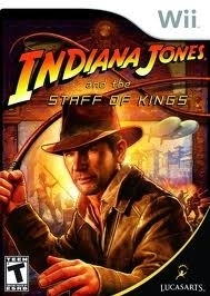 Indiana Jones and the Staff of Kings (Nintendo Wii nieuw)