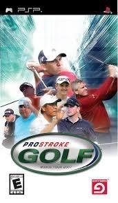 ProStroke Golf (psp used game)