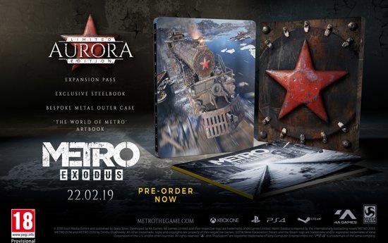 Metro Exodus Aurora Edition  plus Metro 2033 Redux (Xbox One nieuw)