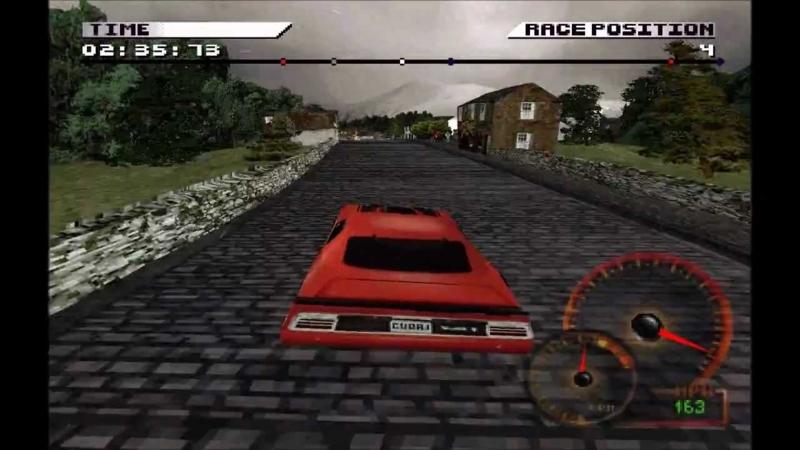 Test Drive 4 (PS1 tweedehands game)