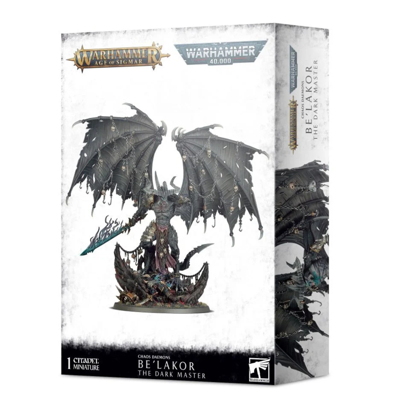 Chaos Daemons Be'Lakor the Dark Master Warhammer Age of Sigmar nieuw)