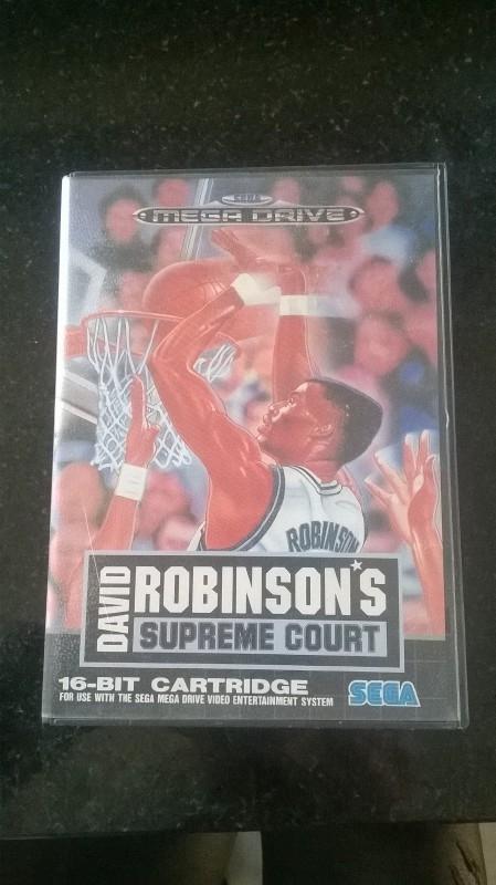 David Robinson's Supreme Court (Sega Megadrive tweedehands game)