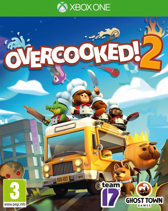 Overcooked 2 (Xbox One nieuw)