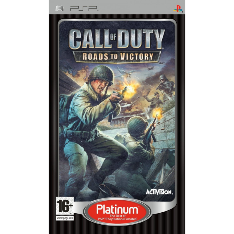 Call of Duty Roads to Victory platinum (psp used game)