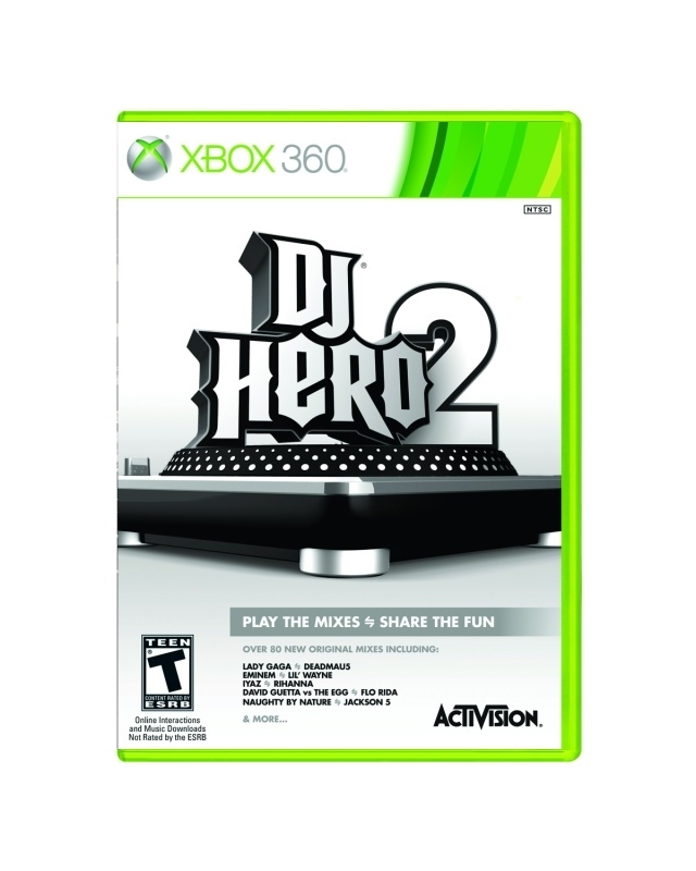 DJ Hero 2 game only (xbox 360 used game)