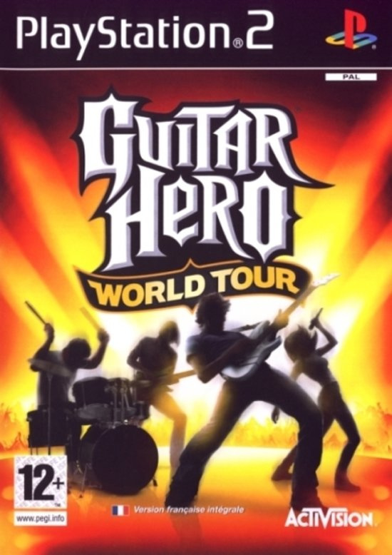 Guitar Hero World Tour (PS2 tweedehands game)