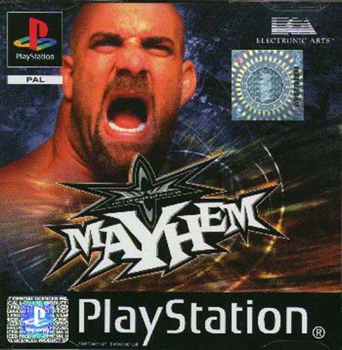 WCW Mayhem  (PS1 tweedehands game)