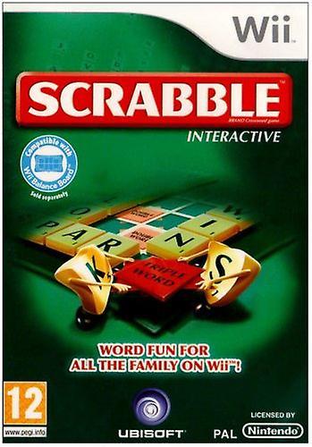 Scrabble Interactive  (Wii nieuw)