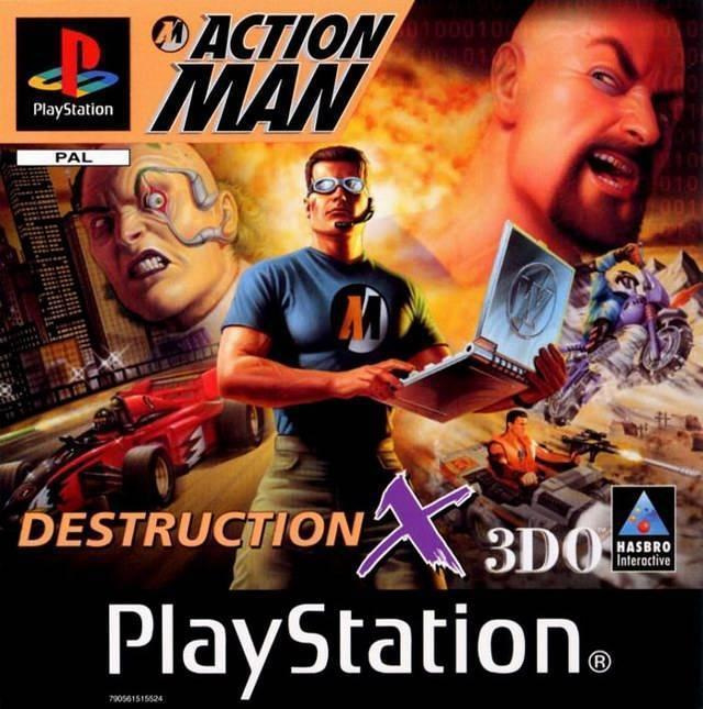 Action Man Destruction X (ps1 tweedehands game)