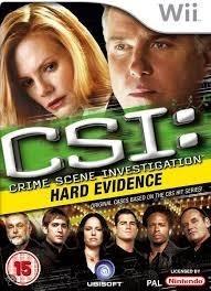 CSI Hard Evidence (Nintendo Wii nieuw)