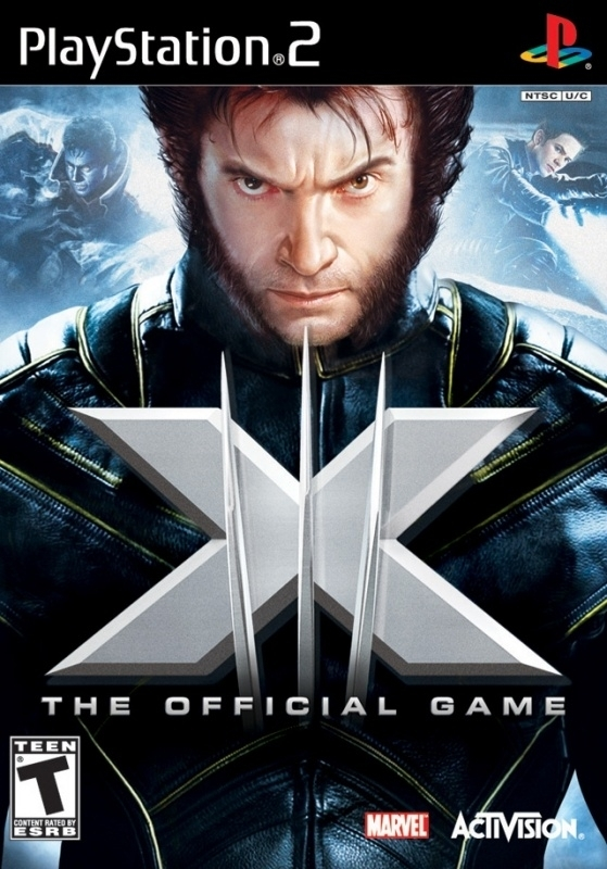 X-Men the official game (ps2 used game)