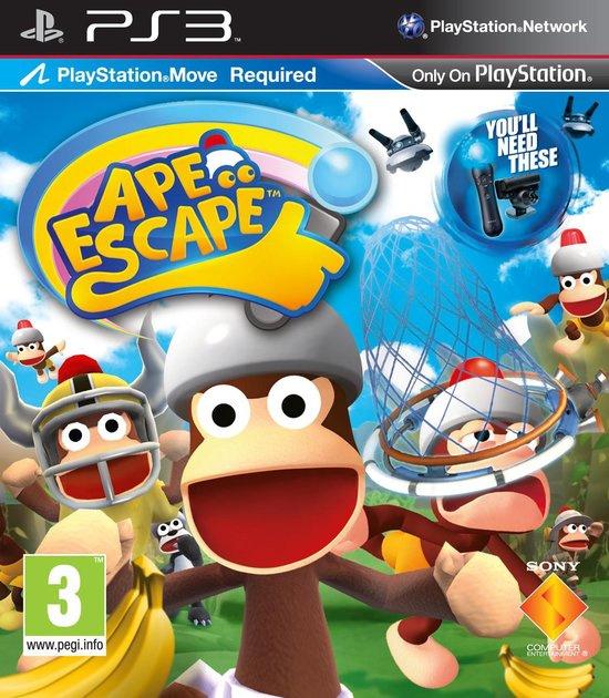 Ape Escape - PlayStation Move (Playstation 3 tweedehands game)