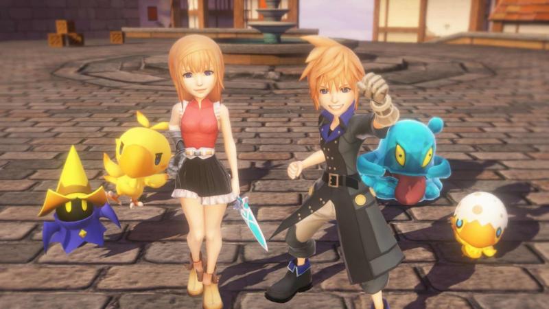 World of Final Fantasy (PS 4 tweedehands game)