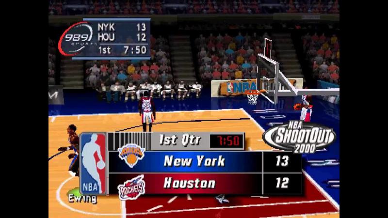 NBA Live 2000 classic (ps1 tweedehands game)