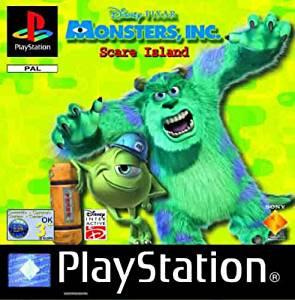 Disney Pixar Monster Inc Scare Island (ps1 tweedehands game)