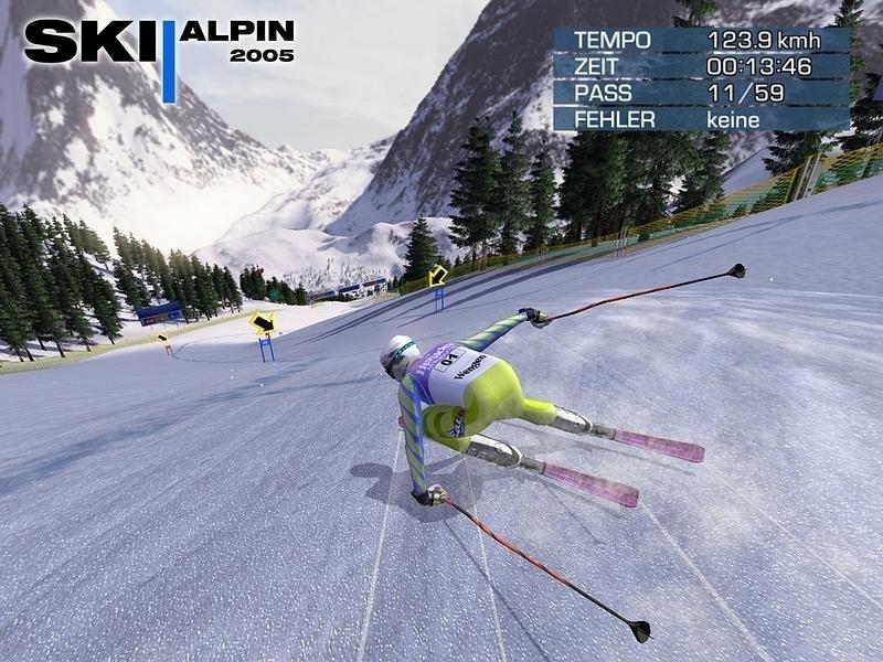 Alpine Skiing 2005 zonder boekje (ps2 used game)