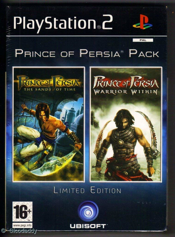 Prince of Persia Sands of Time en Warrior Within  Duo Pack limited edition (PS2 Used Game)