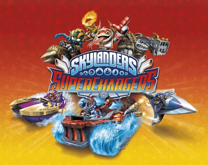 Skylander Superchargers starterpack in doos (Nintendo Wii U tweedehands game)