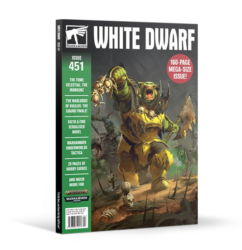 White Dwarf Issue 451 - Februari 2020 (Warhammer nieuw)