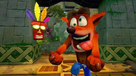Crash Bandicoot N. Sane Trilogy (Nintendo Switch nieuw)