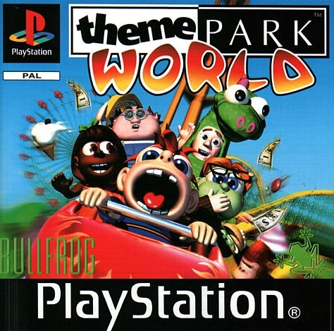 Theme Park World classics (PS1 Used Game)