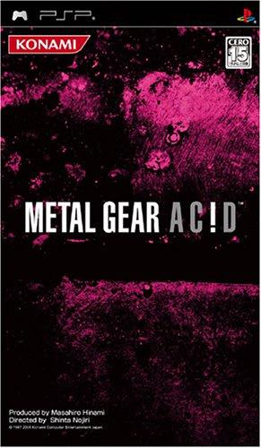 Metal Gear Acid (psp tweedehands game)