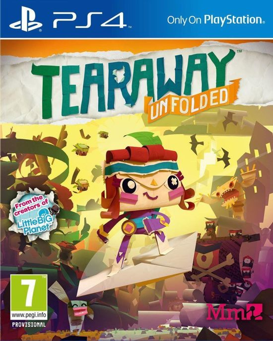 Tearaway Unfolded (ps4 nieuw)