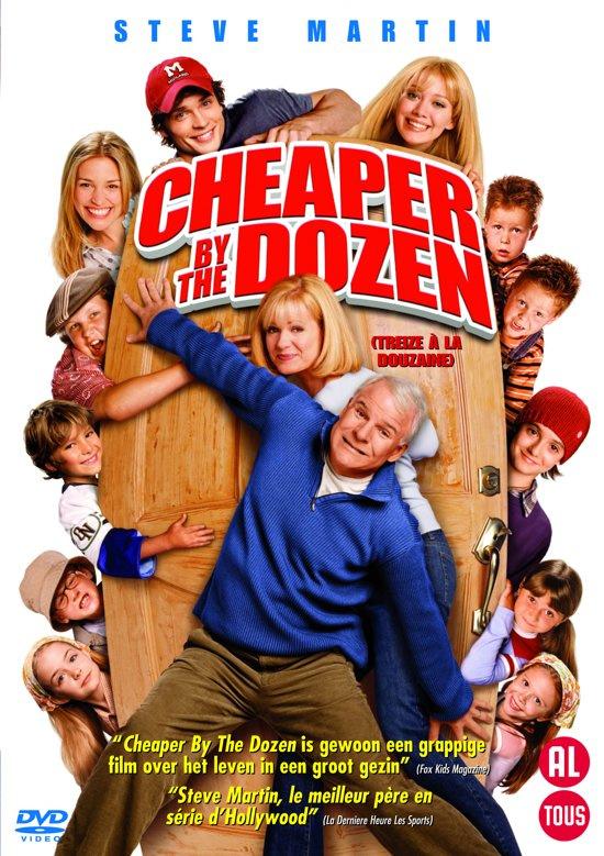 Cheaper by the dozen (dvd nieuw)