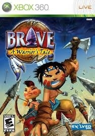 Brave A Warrior's Tale (xbox 360 used game)