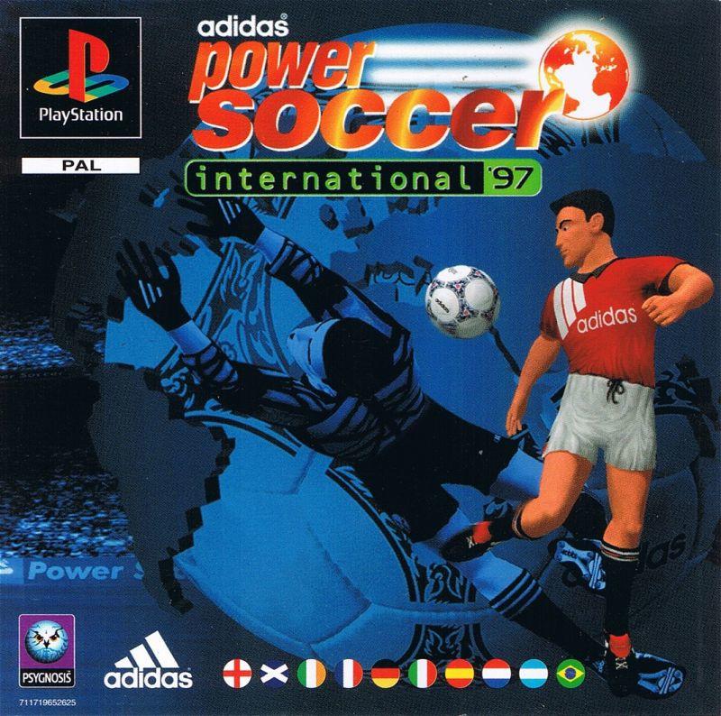 Adidas Power Soccer International 97 (PS1 tweedehands game)