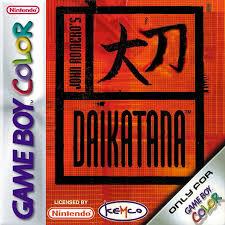 Daikatana losse cassette(Gameboy color tweedehands game)