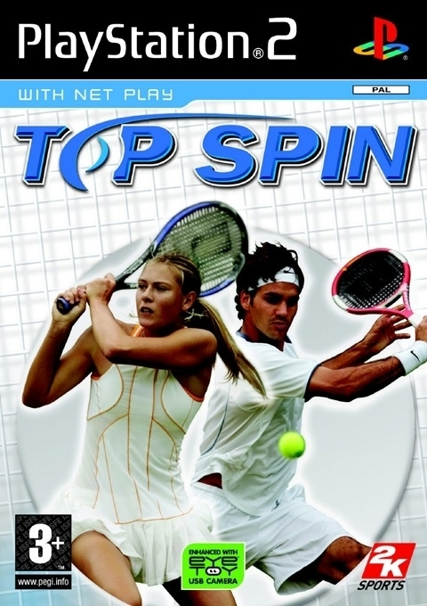 Top Spin (ps2 used game)