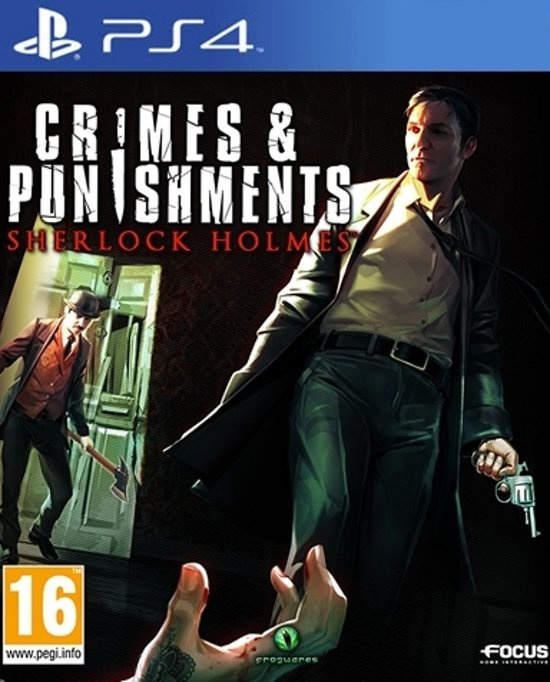 Crimes & Punishments Sherlock Holmes (PS4 Nieuw)