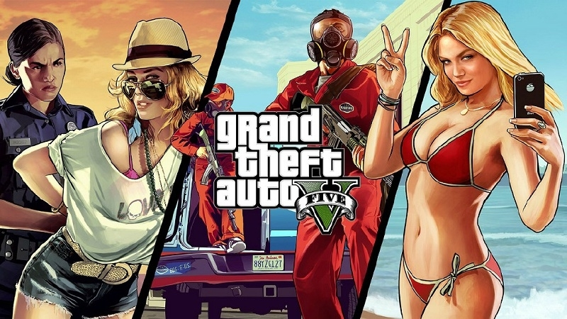 GTA 5 Grand Theft Auto V Steel Case (xbox 360 tweedehands game)