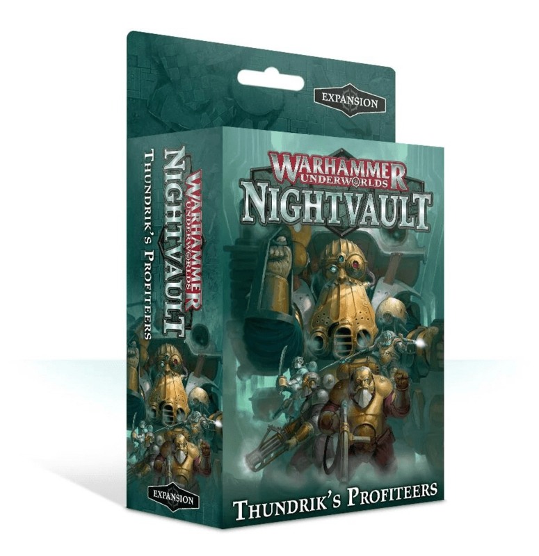 Warhammer Underworlds Nightvault Thundrik's Profiteers (Warhammer nieuw)