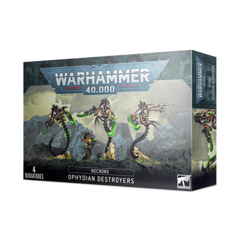 Warhammer 40.000 Necrons Ophydian Destroyers (Warhammer nieuw)