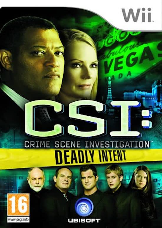 CSI Deadly Intent (Wii tweedehands game)