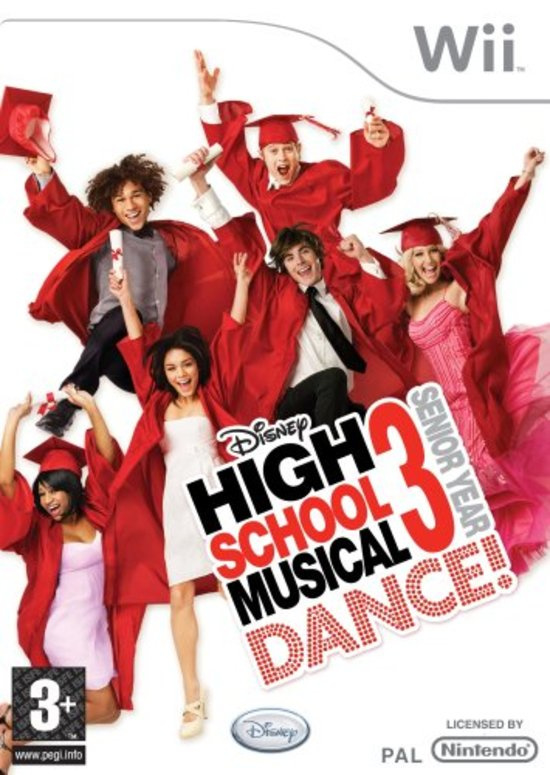 Disney Sing It High School Musical 3 Dance ! Senior Year (Nintendo Wii nieuw)