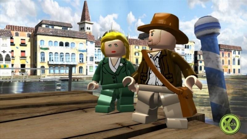Kung Fu Panda + Lego Indiana Jones (Xbox 360 Used Game)