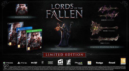 Lords of the Fallen (ps4 tweedehands game)