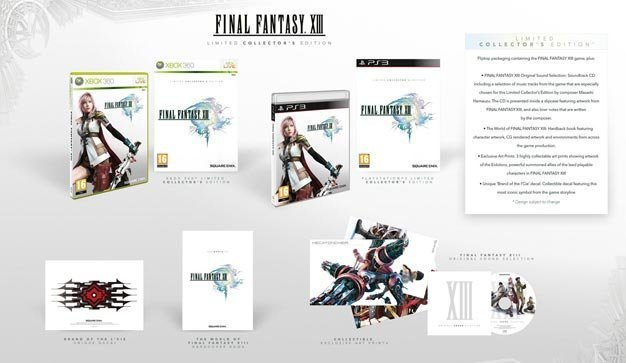 Final Fantasy XIII Limited Collector's Edition (ps3 nieuw)
