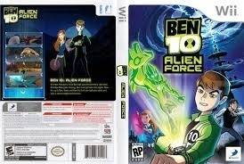Ben 10 Alien Force (wii used game)