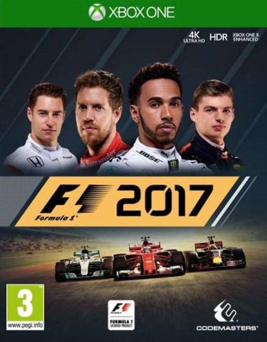 F1 2017 (xbox one nieuw)