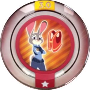Disney Infinity 3.0 Power Discs Meter Maid Judy  (Disney infinity tweedehands)