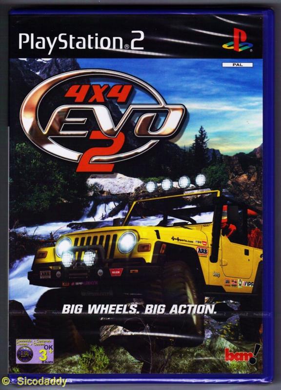 4x4 Evo 2 (ps2 tweedehands game)