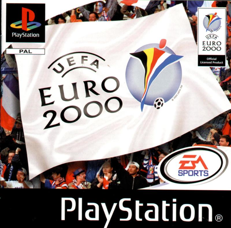 UEFA Euro 2000 (PS1 tweedehands game)