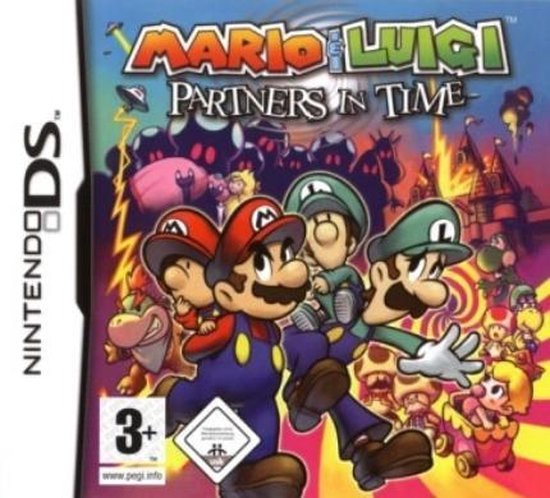 Mario & Luigi Partners in Time (Nintendo DS nieuw)