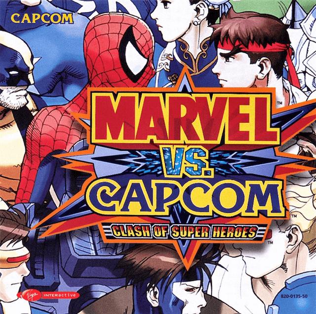 Marvel vs Capcom Clash of Super Heroes (Dreamcast tweedehands game)
