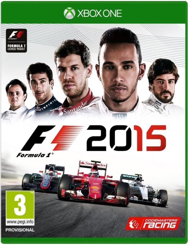 F1 2015 zonder boekje (xbox one tweedehands game)